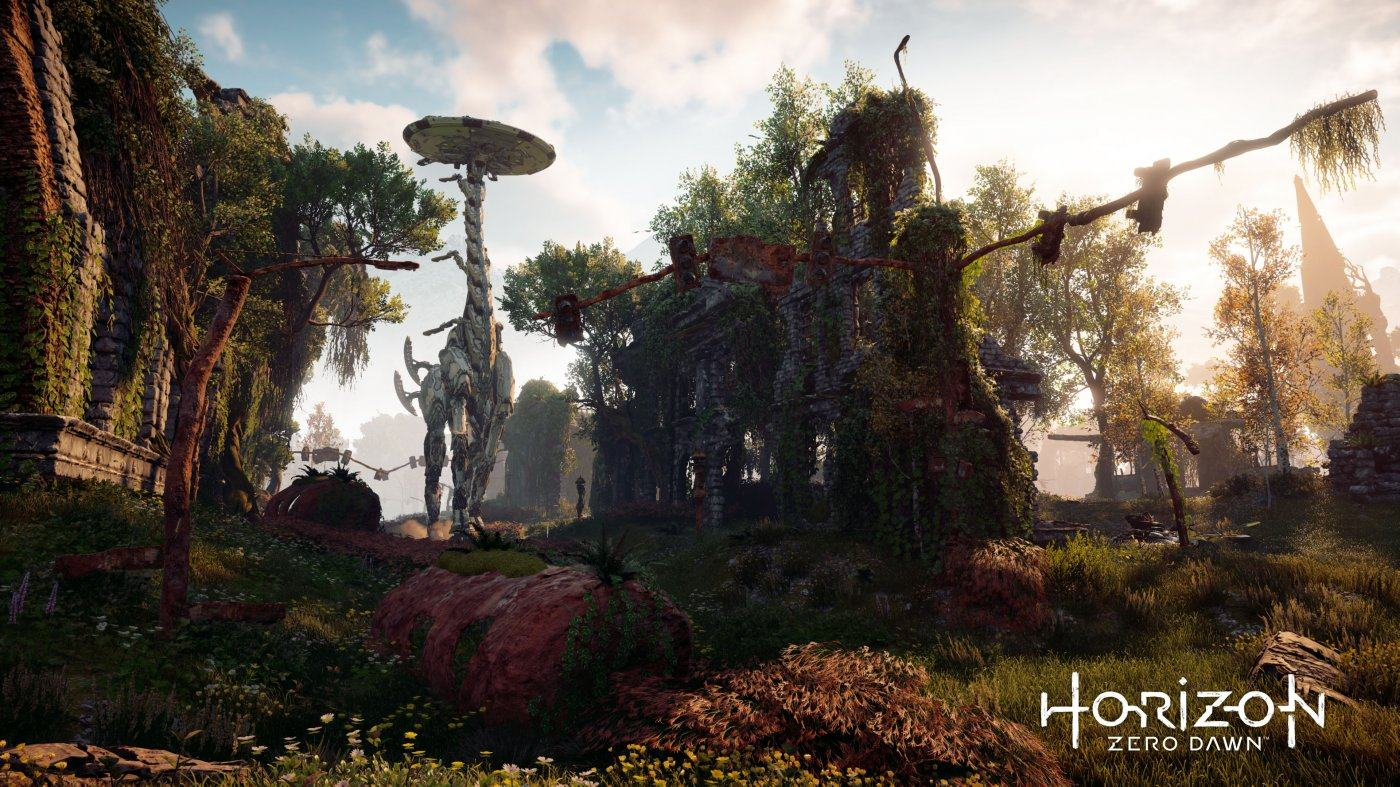 Horizon Zero Dawn due anni