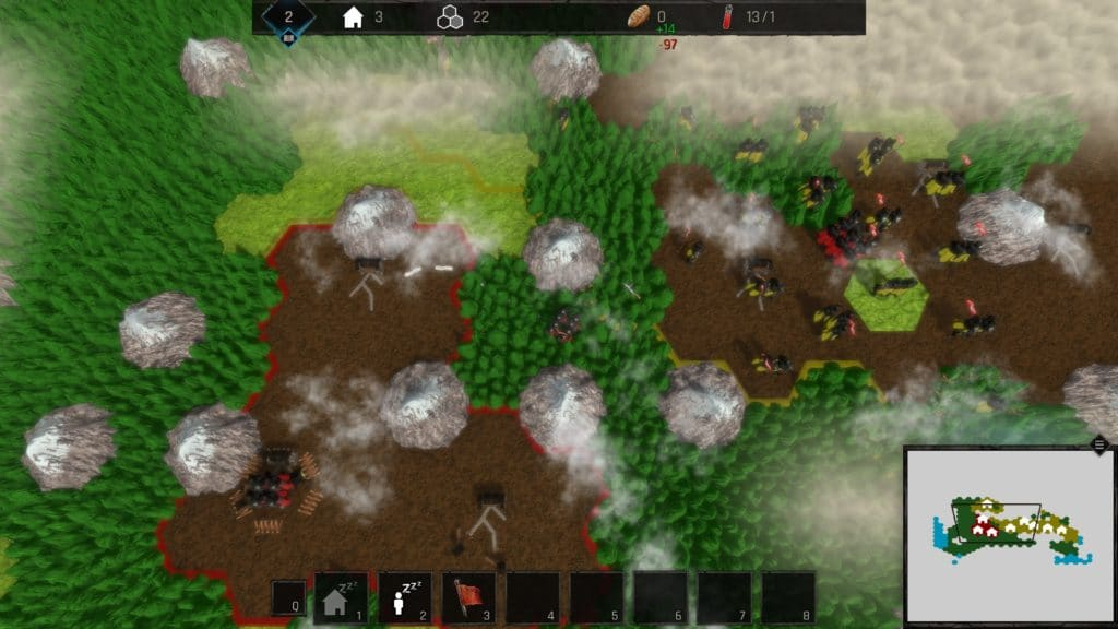 Gameplay singolo giocatore in Waves of the Atlantide