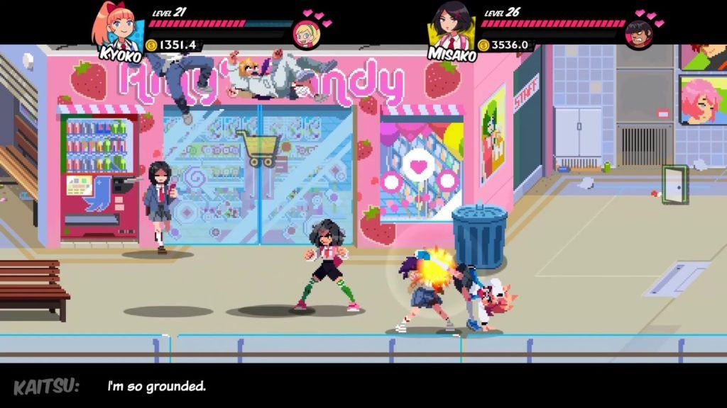 Il gameplay di River City Girls