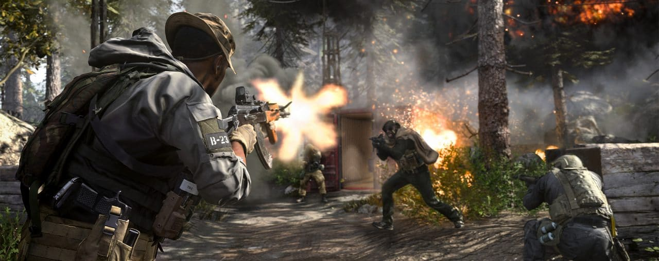 screenshot di Call of Duty: Modern Warfare