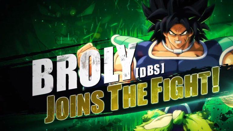 Dragon Ball FighterZ Broly Dragon Ball Super