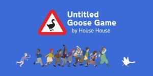 La cover di Untitled Goose Game