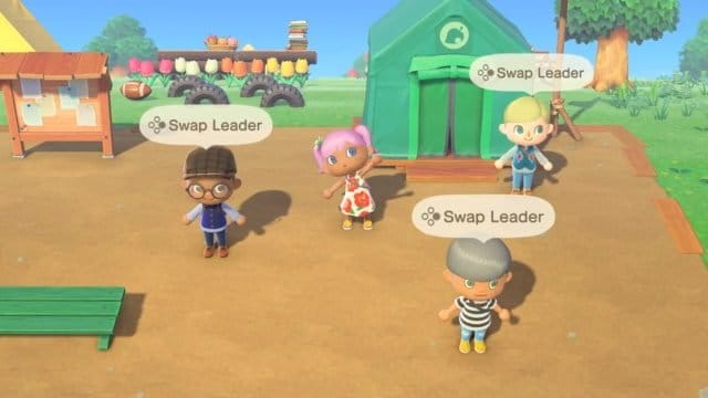 Animal Crossing: New Horizons – Multiplayer locale in co-op