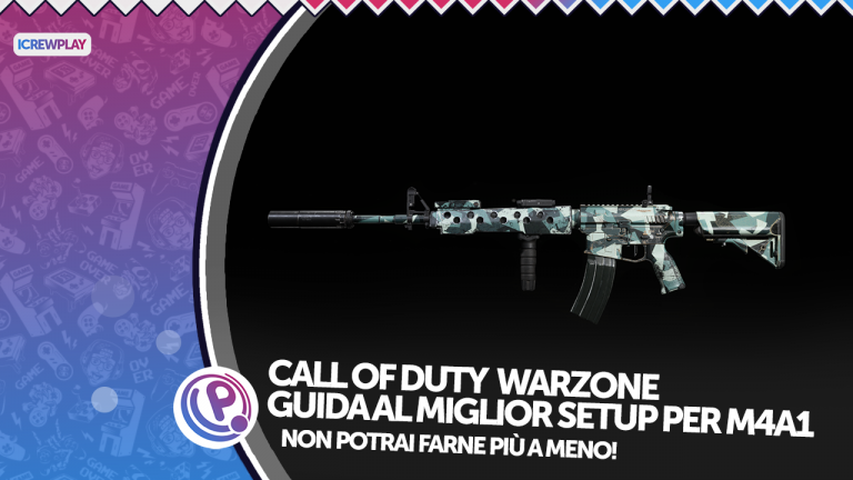 Call of duty Warzone M4a1 best loadout