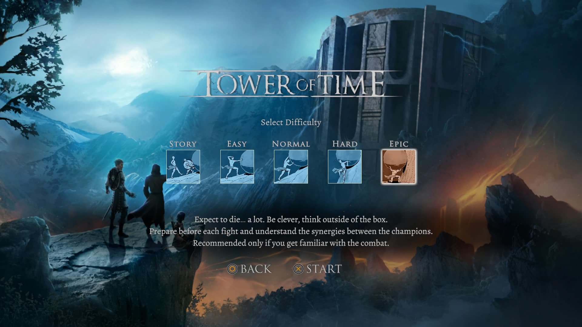 Tower of Time, Recensione Tower of Time, Difficoltà Tower of Time, GDR PS4, RTS PlayStation 4