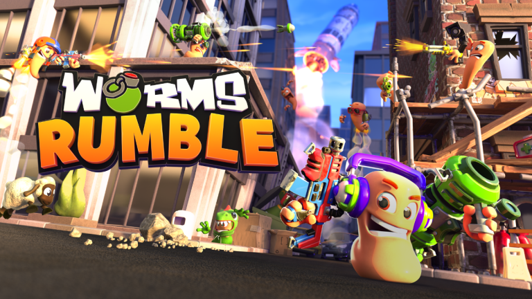 Worms Rumble, Worms Rumble Trailer, Worms Rumble Gameplay, Worms Rumble PlayStation 5, Worms Rumble Wallpaper