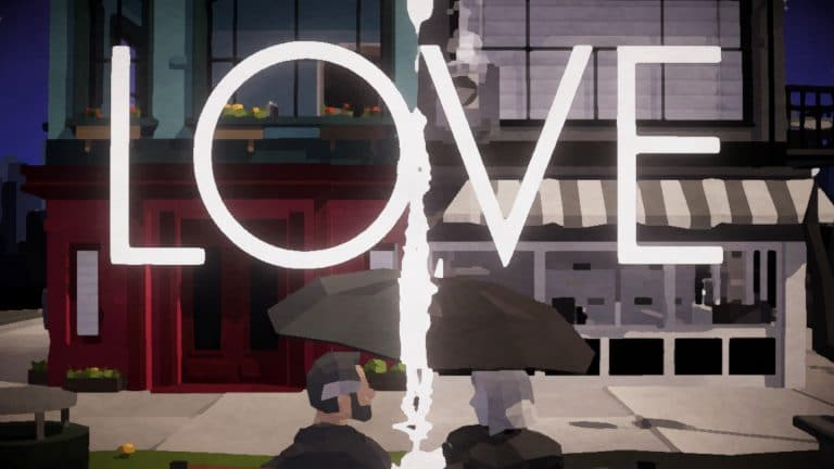 Love: A Puzzle Box Filled Cover