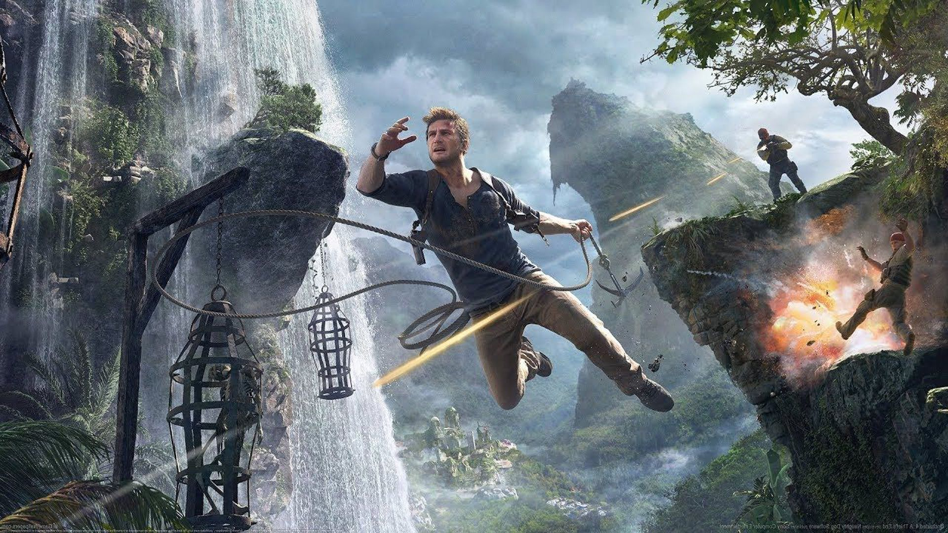 uncharted nolan north marvel's avengers naughty dog