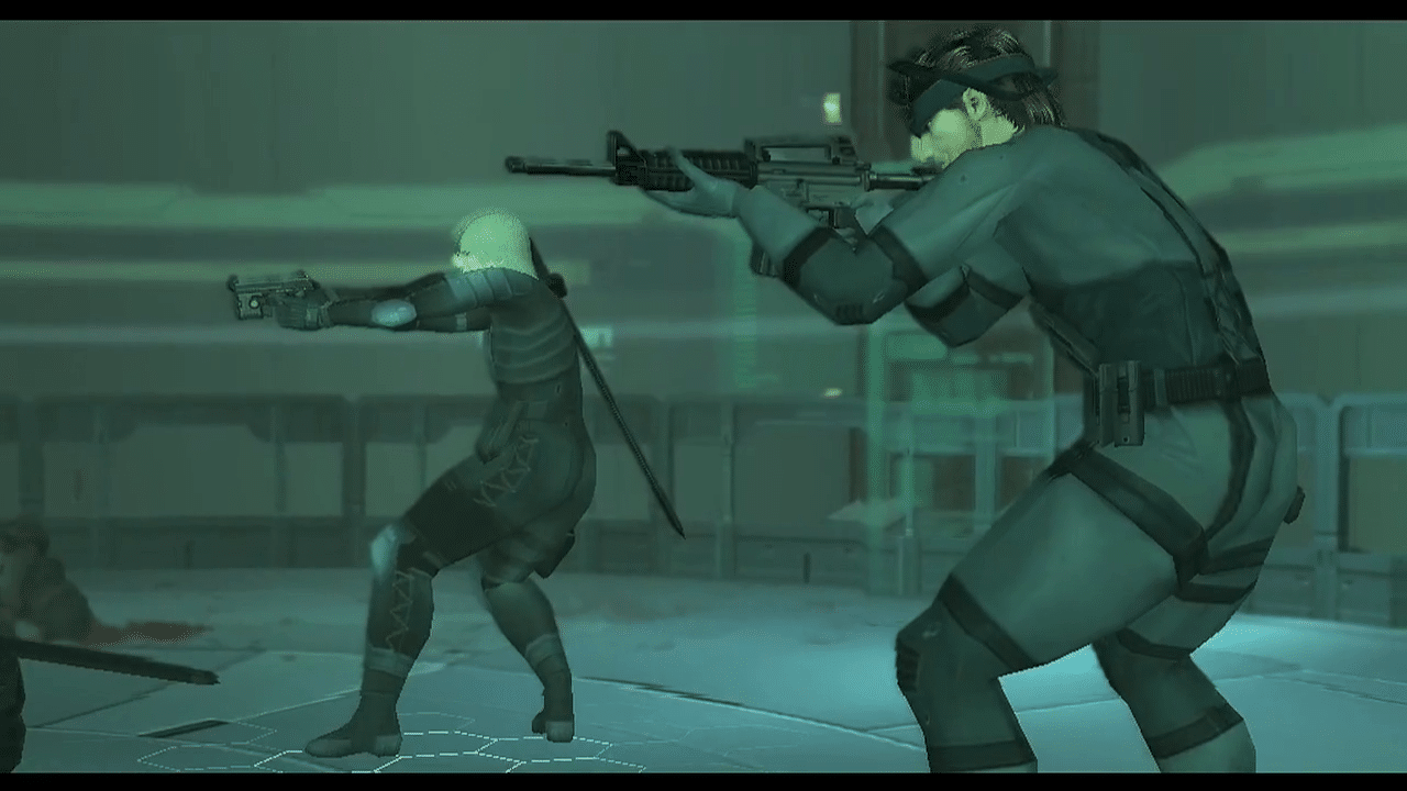 metal gear solid 2 snake raiden 2