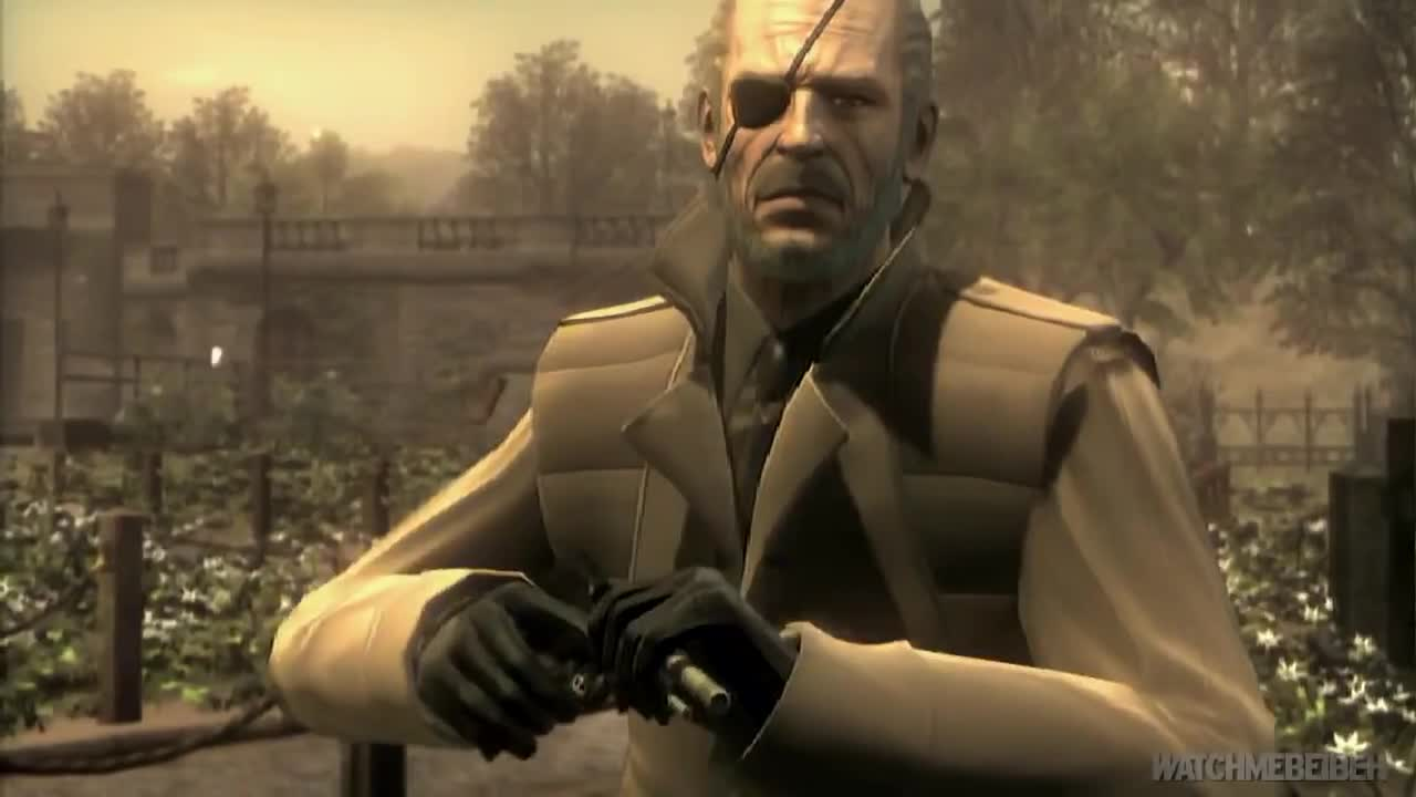 metal gear solid 4 big boss