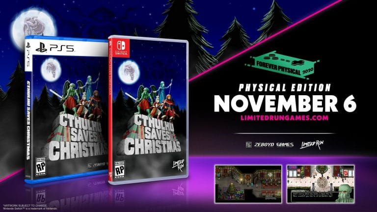 Cthulhu Saves Christmas: disponibile per PlayStation 5