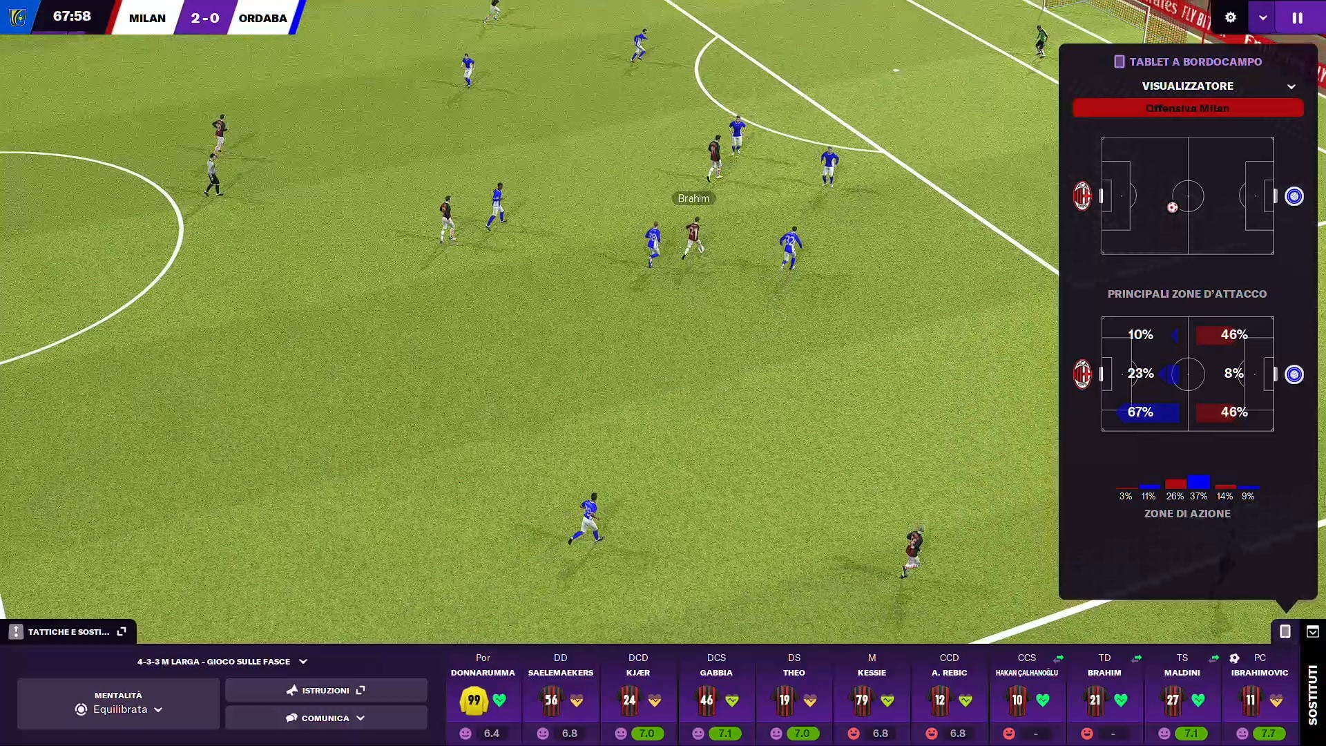 Football Manager 2021 tablet