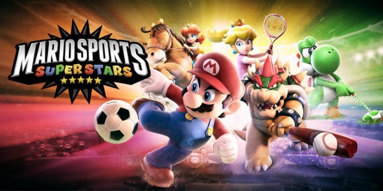 Mario Sports 00 Mario Sports superstars cover