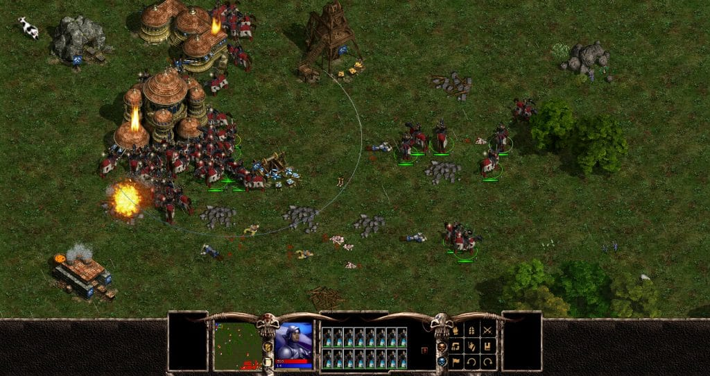 Giochi di Strategia Warlords Battlecry screen 01