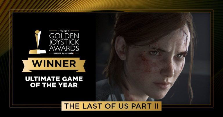 Golden Joystick Awards 2020: The Last of Us Part II
