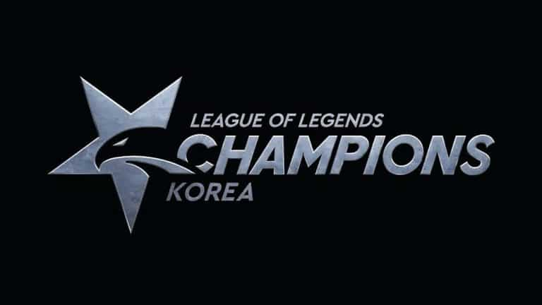 League of Legends LCK logo