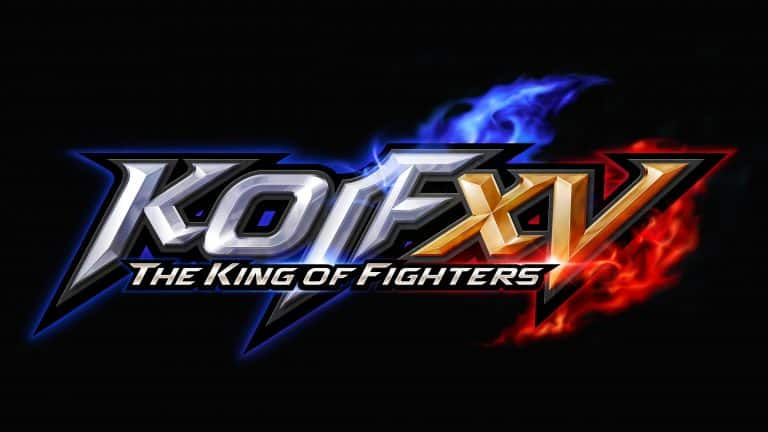 SNK The KIng of Fighters XV logo