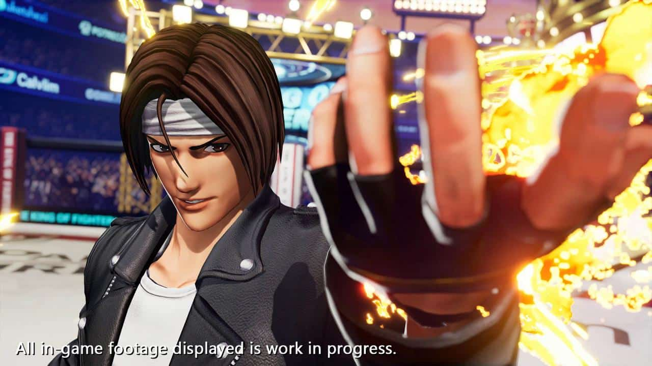 SNk The King of Fighters XV kyo