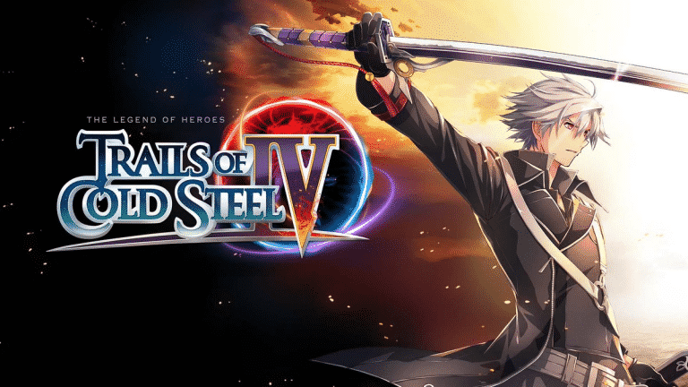 La cover di The Legend of Heroes: Trails of Cold Steel IV