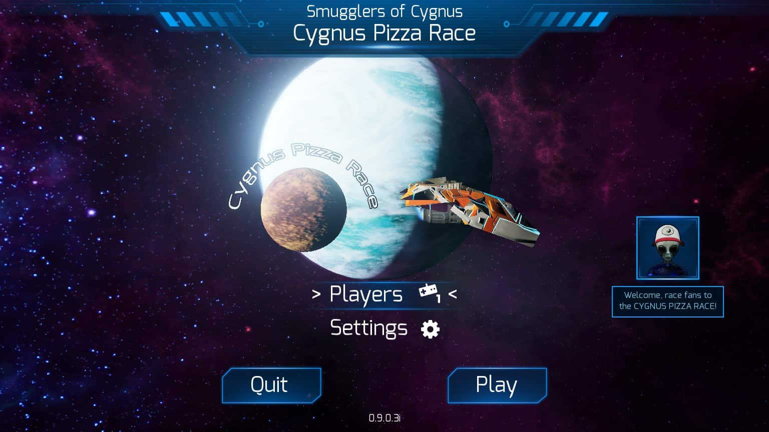 Cygnus Pizza Race