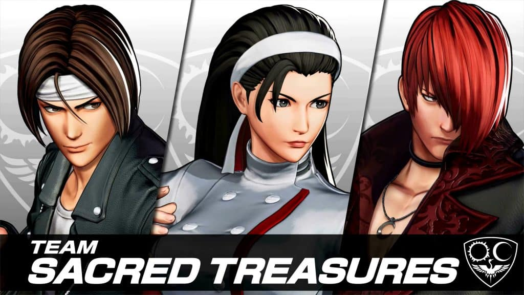 The King of Fighters XV Team Sacred Treasures