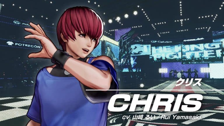 The King of Fighters XV Chris 01