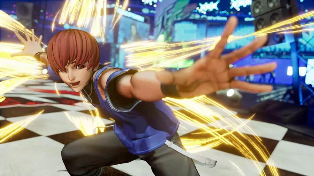 The King of Fighters XV Chris 03
