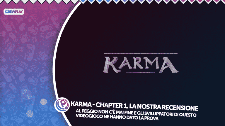 Karma chapter 1 recensione