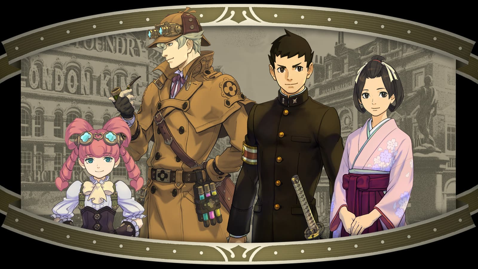 The Great Ace Attorney - Characters