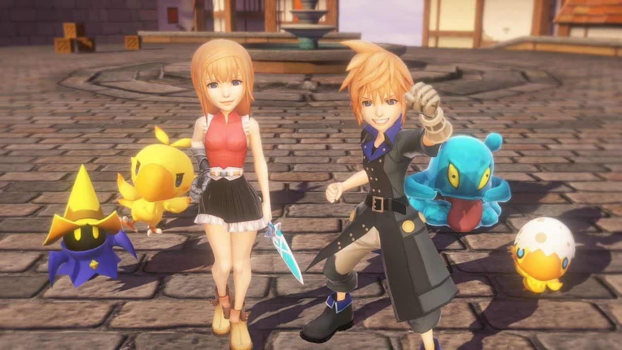 World of Final Fantasy - victory