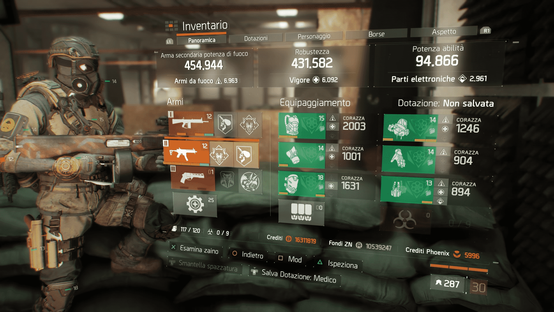 Assalitore The Division