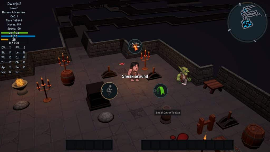 Ultimate ADOM: Caverns of Chaos, panoramica su questo RPG roguelike 4