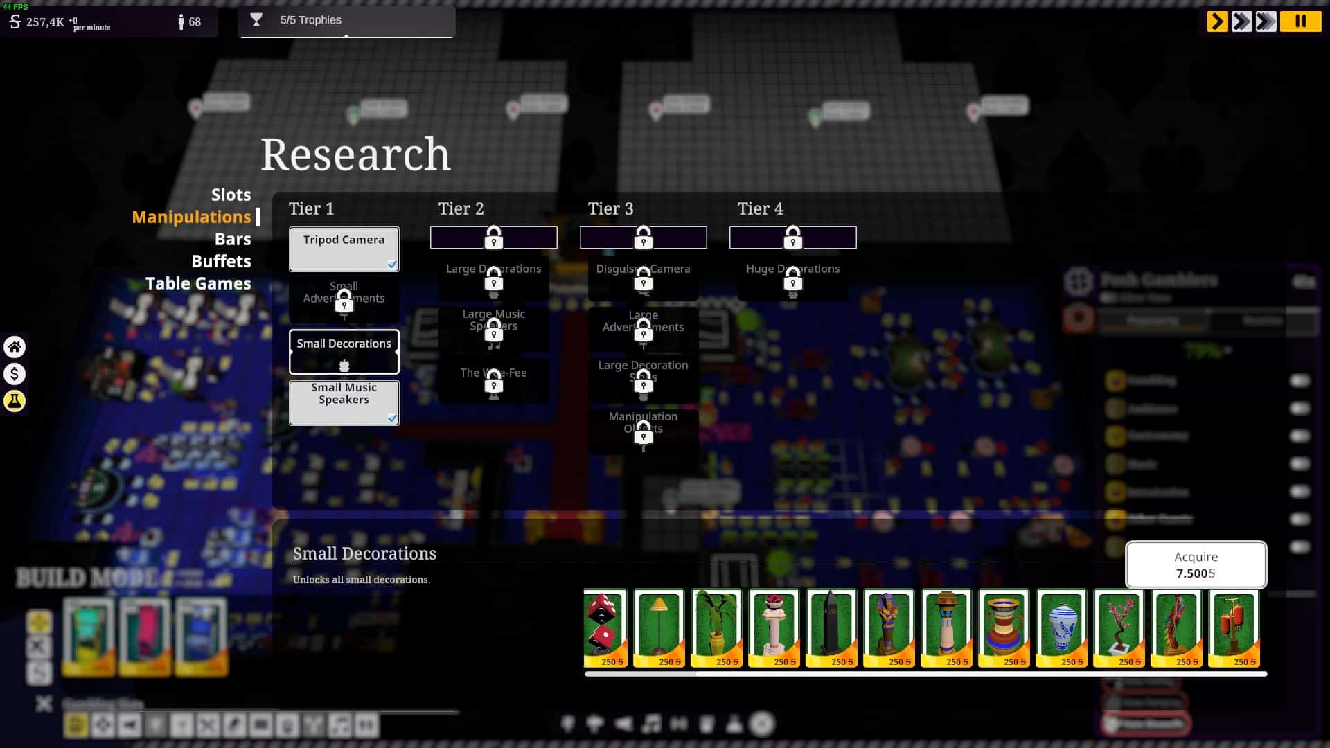 grand casino tycoon research table