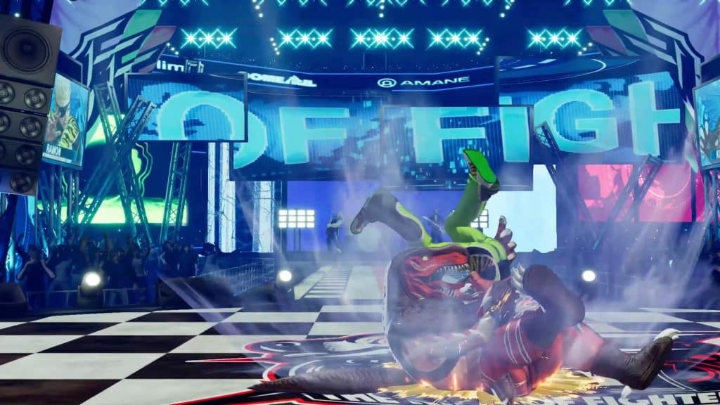 The King of Fighters XV King of Dinosaurs 02