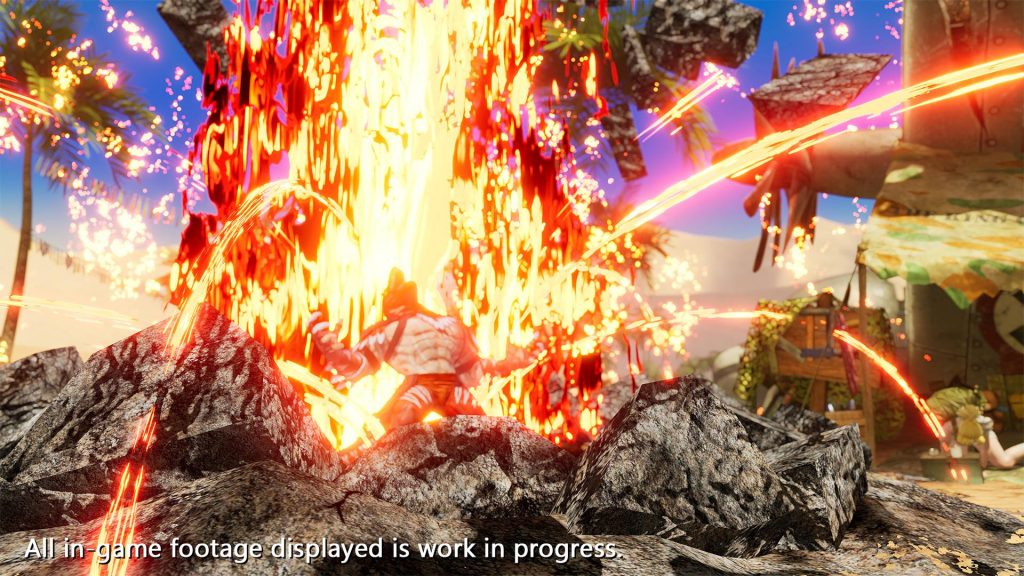 The King of Fighters XV King of Dinosaurs 03
