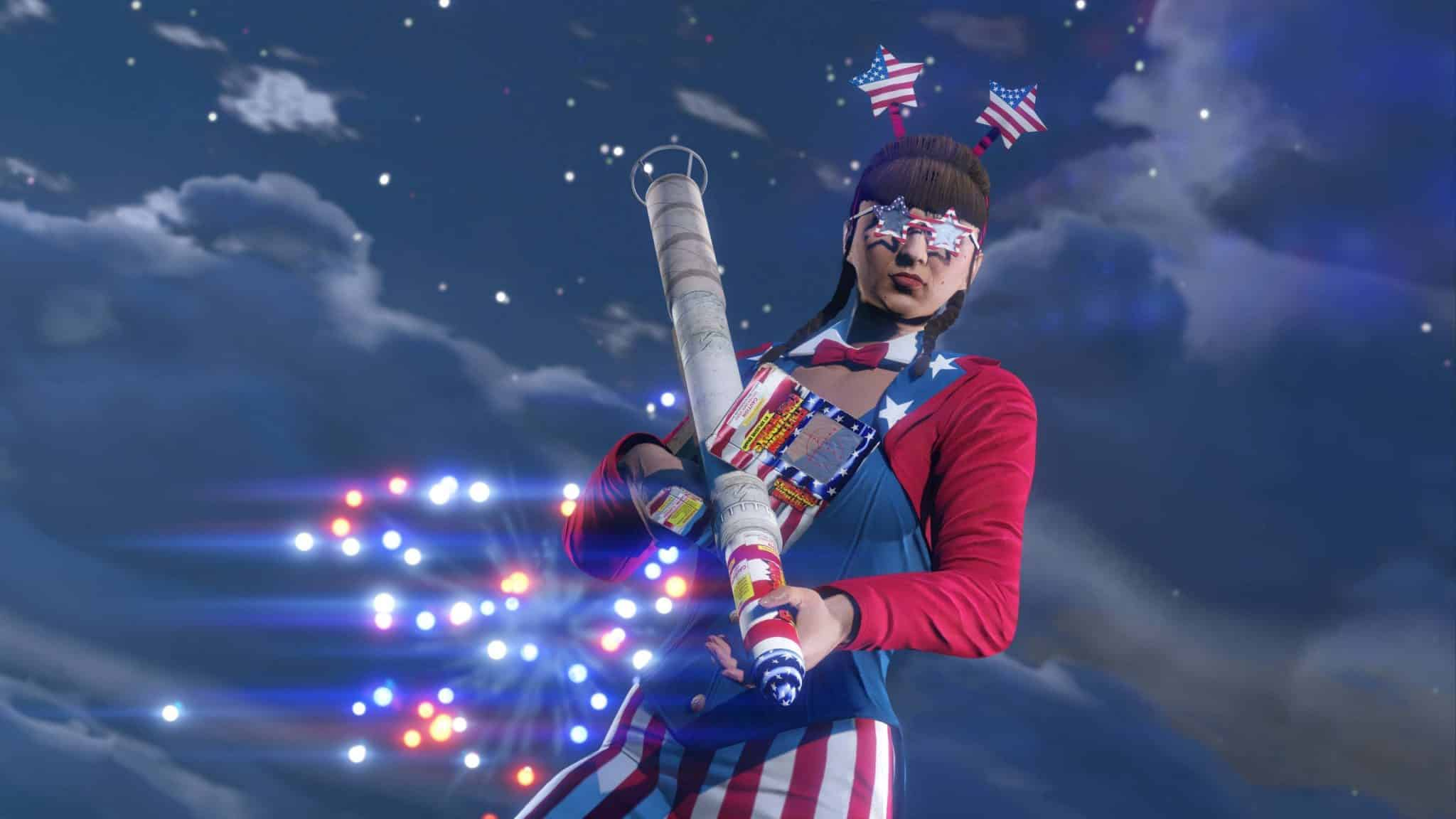 GTA Online - Indipendence Day 1