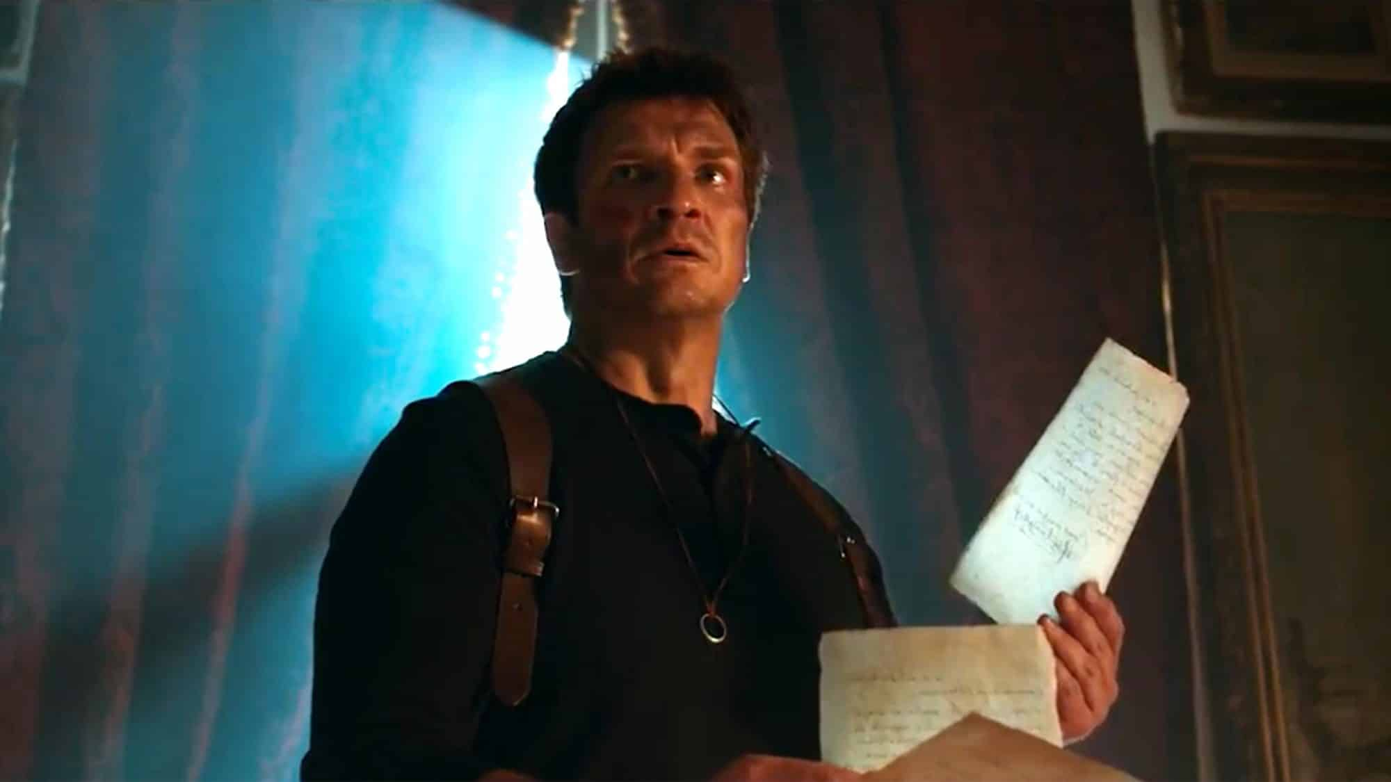 Uncharted - Nathan Fillion