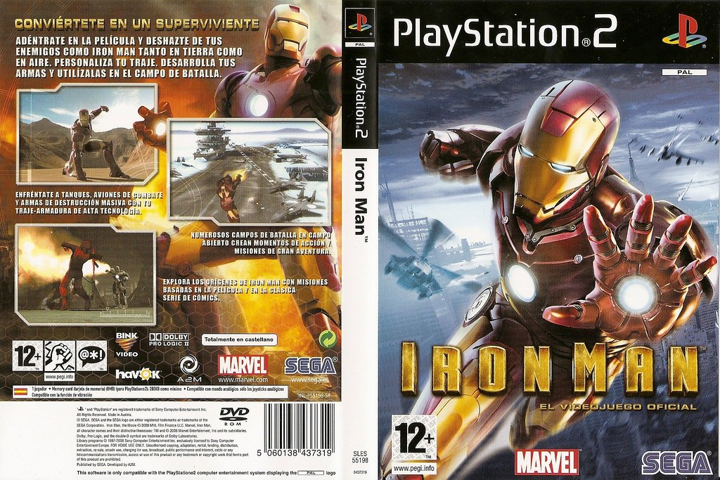 Old But Gold #125 – Iron Man PlayStation 2 1