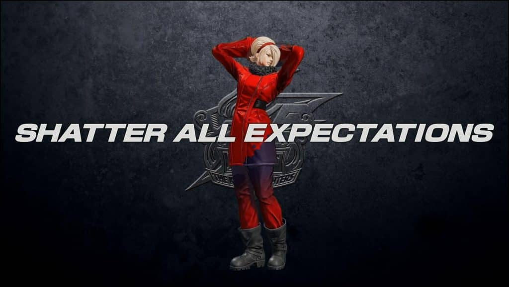 The King of Fighters XV Ash Crimson 03