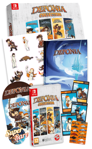 Deponia Collection collector edition switch