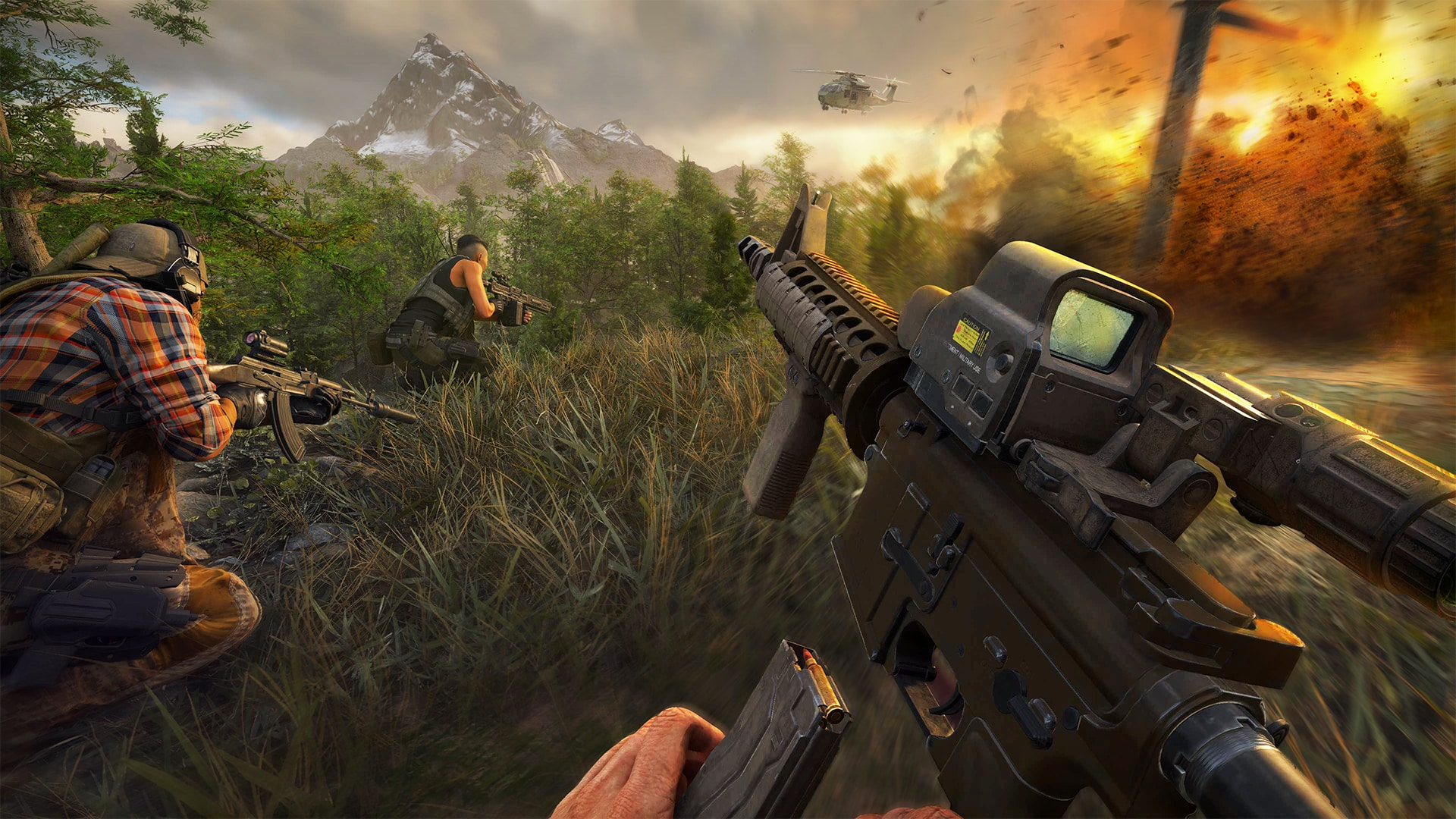 Ghost Recon Frontline gameplay