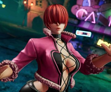 The King of Fighters XV Shermie 01