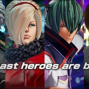 The King of Fighters XV all past heroes
