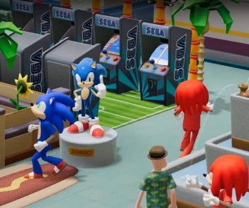 Two Point Hospital sonic collabo