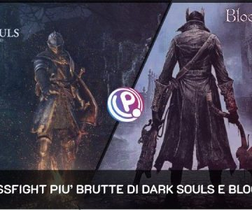 Dark Souls Bloodborne bossfight